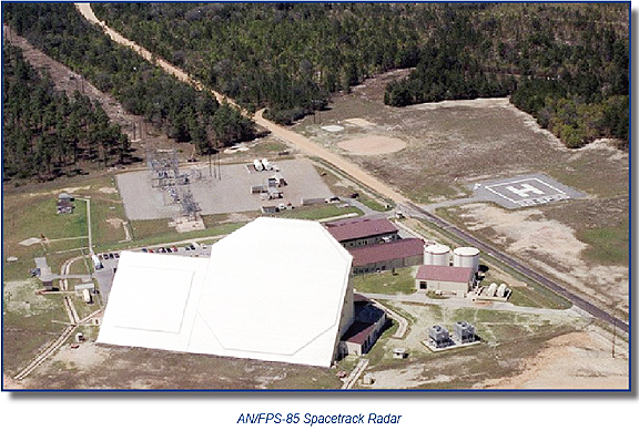 USAF Spacetrack Radar