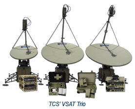 TCS VSAT Trio
