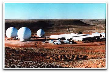 First operational ground station for DSP