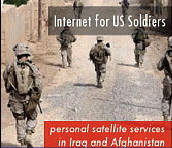 Internet for soldiers