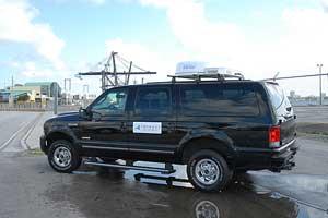 iDirect COTM truck exterior