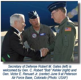 Gen. Kehler + Gates