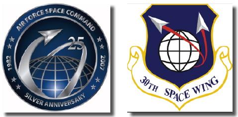 AFSC + 30th SW logos