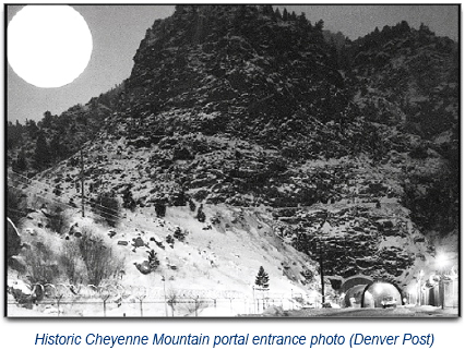 Cheyenne Mountain portal entrance 2