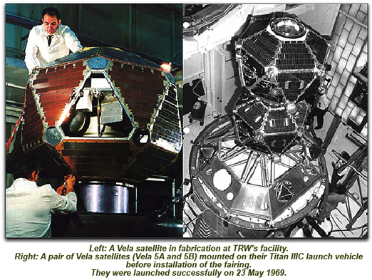 Vela satellite photos