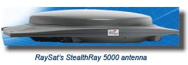 RaySat 5000 antenna