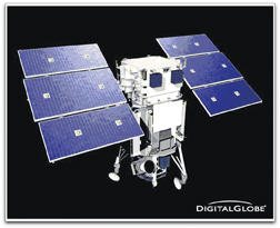 WorldView-1 satellite (DigitalGlobe)