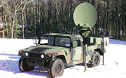 SMART-T on Humvee (Raytheon)