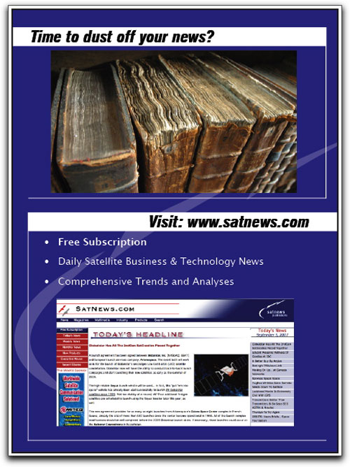 SatNews Ad MSM Nov09