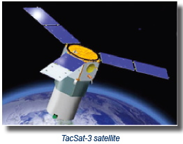 TacSat-3 satellite