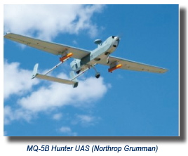 MQ-5B Hunter UAS